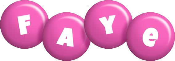 Faye candy-pink logo