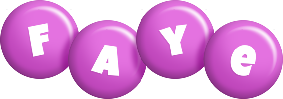 Faye candy-purple logo