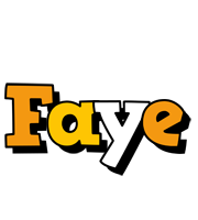Faye cartoon logo