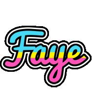 Faye circus logo