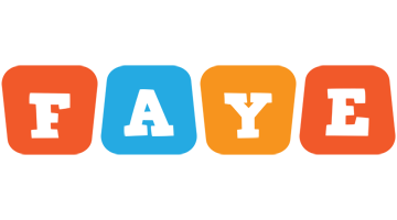 Faye comics logo