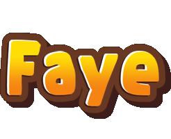 Faye cookies logo