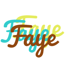 Faye cupcake logo
