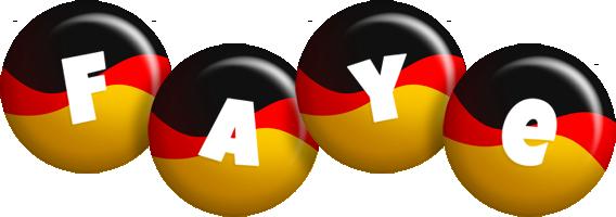 Faye german logo