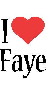 Faye i-love logo