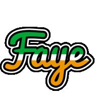 Faye ireland logo