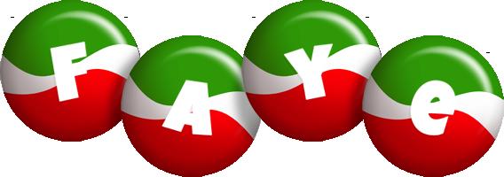 Faye italy logo