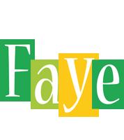 Faye lemonade logo