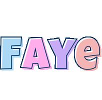 Faye pastel logo