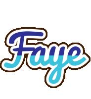 Faye raining logo