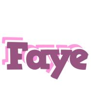 Faye relaxing logo
