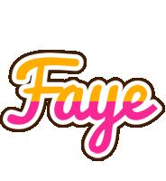 Faye smoothie logo