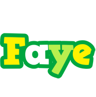 Faye soccer logo