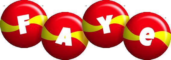 Faye spain logo