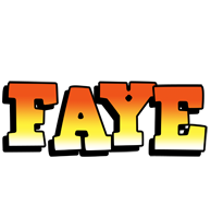 Faye sunset logo