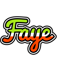 Faye superfun logo