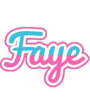 Faye woman logo