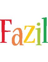 Fazil birthday logo