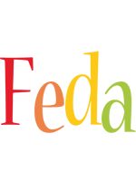 Feda birthday logo