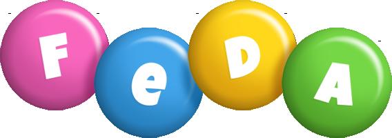 Feda candy logo