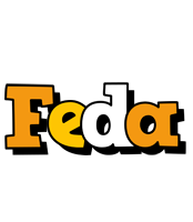 Feda cartoon logo