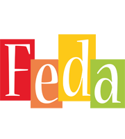 Feda colors logo
