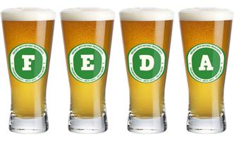Feda lager logo