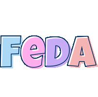 Feda pastel logo