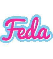 Feda popstar logo