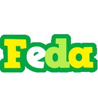 Feda soccer logo
