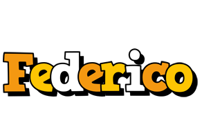 Federico cartoon logo