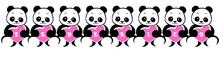 Federico love-panda logo