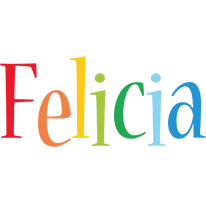 Felicia birthday logo