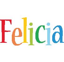 Felicia birthday logo