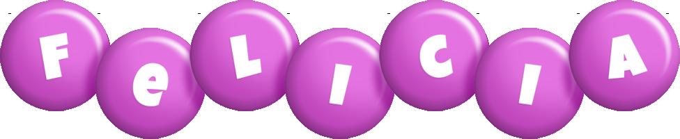 Felicia candy-purple logo