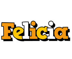 Felicia cartoon logo