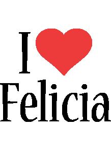 Felicia i-love logo