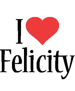 Felicity i-love logo