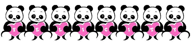 Felicity love-panda logo