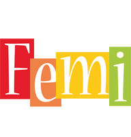 Femi colors logo