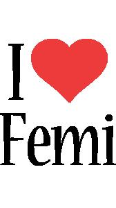 Femi i-love logo