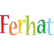 Ferhat birthday logo