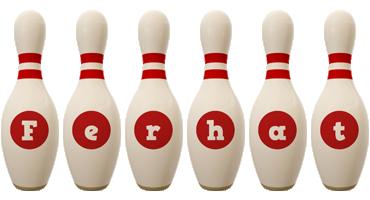 Ferhat bowling-pin logo