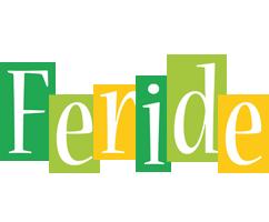 Feride lemonade logo