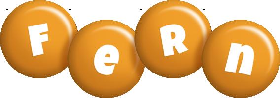 Fern candy-orange logo