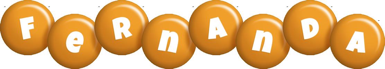 Fernanda candy-orange logo