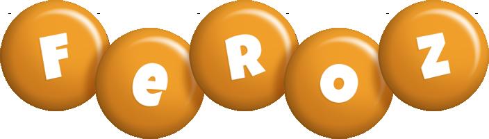 Feroz candy-orange logo