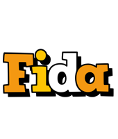 Fida cartoon logo