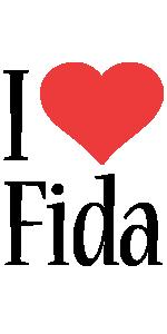Fida i-love logo