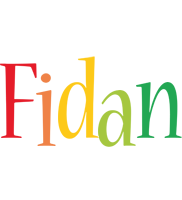 Fidan birthday logo